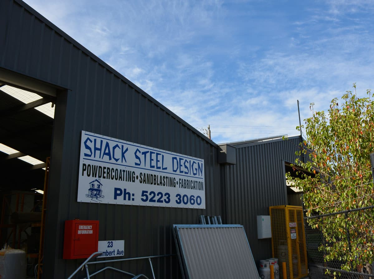 About Us Shack Steel Design
